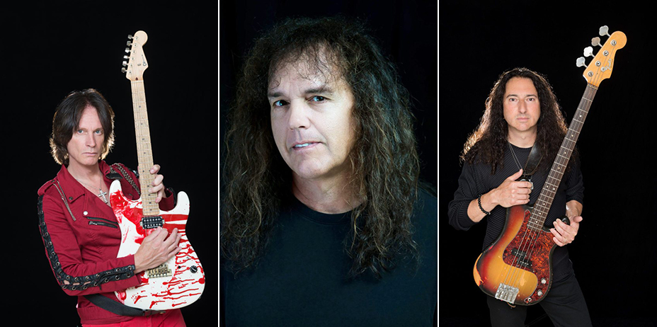 Impellitteri - The Nature Of The Beast Band Lineup 2018 (L to R : Chris Impellitteri, Rob Rock, James Pulli)